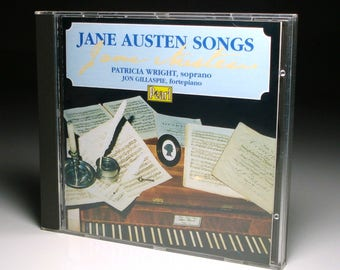 "Jane Austen CD - ""Jane Austen Songs"" - Perfect for the True ""Austenite"" or ""Janeite""! - Out of Print - Like New Condition"