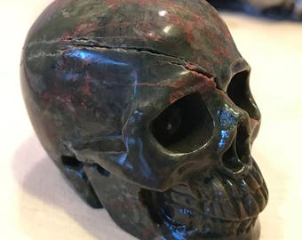 "Skull 2.1"" Dinosaur Egg Agate *Carved Crystal* Realistic *Crystal Healing* Awesome"