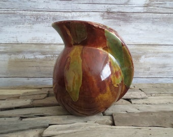 Vintage Dryden Hot Springs Arkansas Pottery Pitcher           ES7