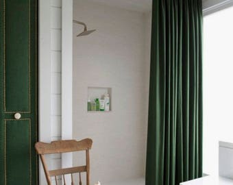 with for contemporary tall liner extra curtains shower curtain rollover long