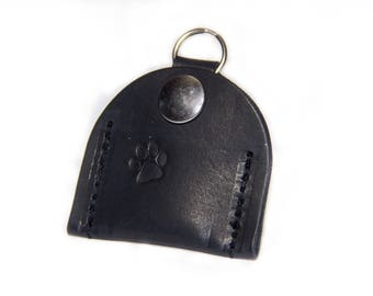 FIDO Leather Pet Tag Silencer - LG Breed