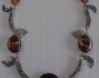 Fantasy original handmade necklace for women