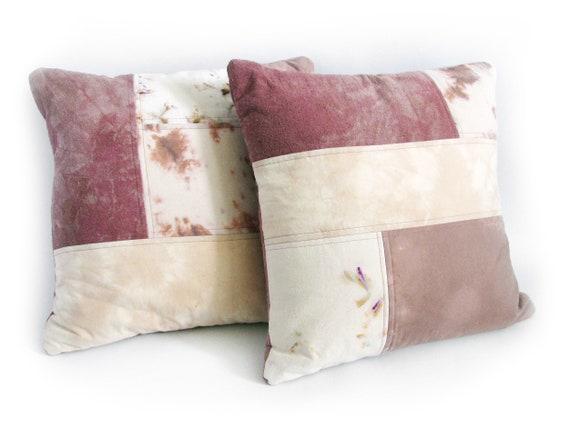 Blush Patchwork Pillow Set