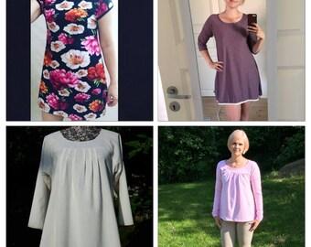 Delta topp/klänning stl 34 - 50