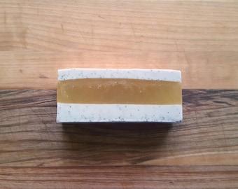 Rosemary Orange Soap - Apricot Seed Exfoliant