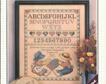Cross Stitch & Country Crafts Magazine - Sample Issue - 22 Great Projects Inside
