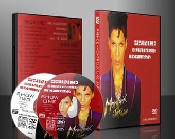 PRINCE live 2009 Montreux Jazz Festival 2shows 2 DVD set