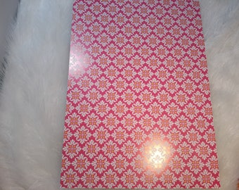 glossy 4 patterned paper