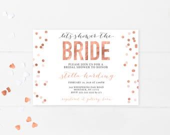 Bridal Shower Invitation, Bridal Shower Invitation Printable, Bridal Shower, Printable Bridal Shower Invitation, Bridal Shower Invites [710]