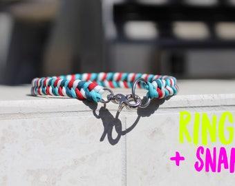 THE MUFFIN || CUSTOM Dog Collar || Paracord Collar || Custom Collar || Braided Collar || Colorful