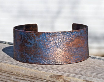 Gift for Maid of Honor - Mother of the Bride Gift - Will You Be My Bridesmaid - Gift for Mother of the Groom - Personalized Copper Cuff