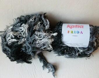 Yarn Sale  -  Grey and Black 77 Frida by Katia