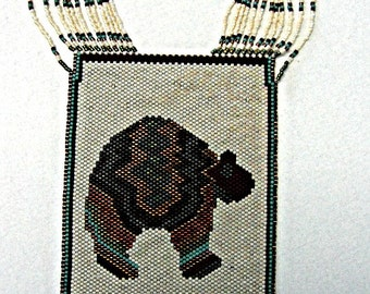 Bedazzled Bear Necklace