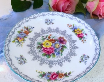 1950's Shelley 'CROCHET' Vintage Plate