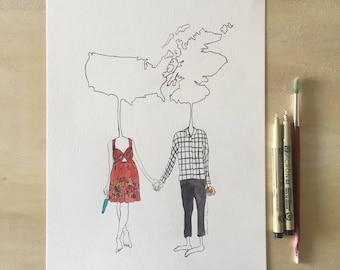 Custom Couples Commision