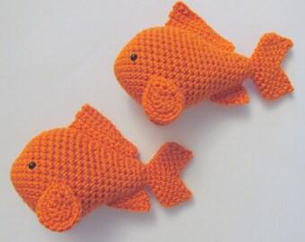 Free Amigurumi Fish Pattern : Amigurumi crochet goldfish pattern digital download