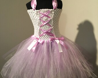 Lavender Corset Tutu Dress (2T - 3T)