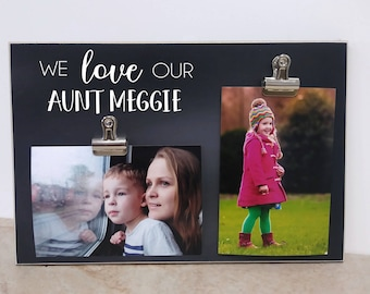 Auntie Gift Photo Frame, Birthday Gift For Aunt, Personalized Picture Frame Gift For Auntie, Aunt Picture Frame, Birthday Gift For Auntie