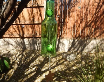 Wind chime, recycled / upcycled
