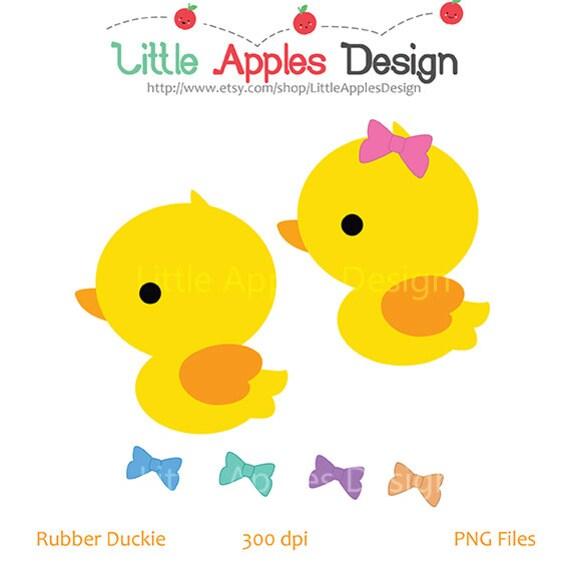 rubber duck clip art duck clipart rubber duck digital rh etsy com baby duck clipart baby daisy duck clipart