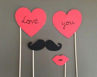 Photobooth wedding, Valentine's day - love