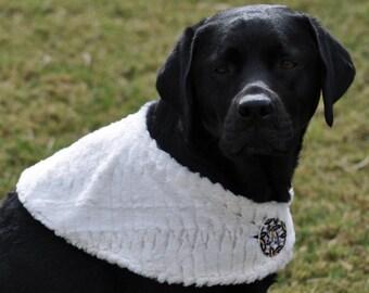 Dog Coat / Fur Stole for Dogs / Fur Fabric Stole / Dog Coat / Dog Sweater / Faux Fur Cape / White Fur
