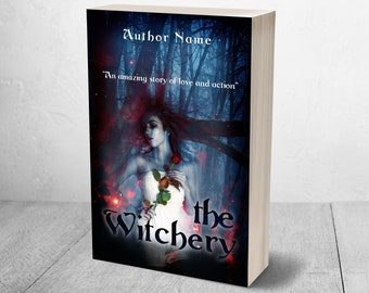 Pre-made Fantasy Ebook/Paperback Cover, Kindle Size, Whole Case, Front, Spine and Back, Custom Titles