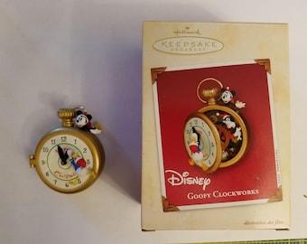 Hallmark Goofy Clockworks Ornament
