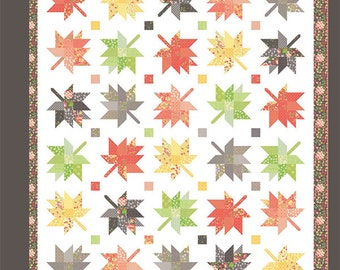 Quilt Pattern - Maple Charm Quilt Pattern - Corey Yoder - Moda Fabrics