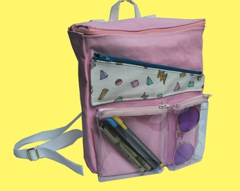Pocketful Hand Painted Backpack