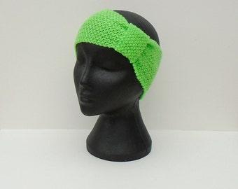 Knitted Ear Warmers, Hand Knit Headband, Knitted Head Wrap, Fashion Accessory, Winter Head Warmer, Fashion Neck Wrap, Winter Gift Idea,