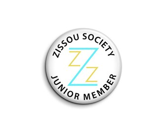 Zissou Society Junior Member Pinback Button or Magnet - The Life Aquatic