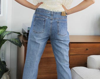 90s Calvin Klein Medium Wash Straight Leg Jeans