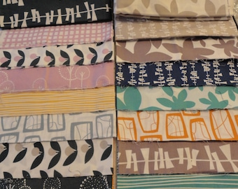 10-1/2 Yards Fabric Lot:  Glimma by Lotta Jansdotter for Windham Fabrics - see listing for details