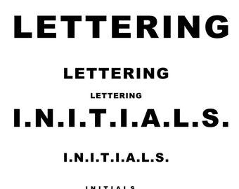Initials - Add On