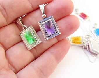 2 photo locket necklace jewelry Friendship NECKLACE Photo locket jewelry, friend birthday gift - locket pendant  best friend gift, friends