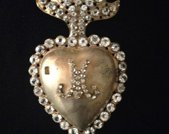 Necklace Heart Of Mary France Nineteenth Century