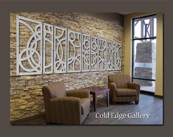"Extra Large Art,  Metal Wall Art, Art, Decor, Abstract, Contemporary, Modern, ""Portofino 10A"" - Aluminum Sculpture"