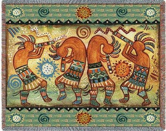Koko Quartet II Blanket