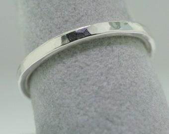 Hammered Trinket Ring- Stackable