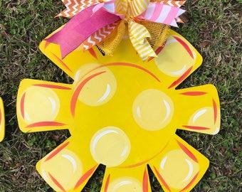 Happy Everything Sunshine Door Hanger