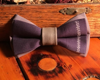 Stitched Bow Tie