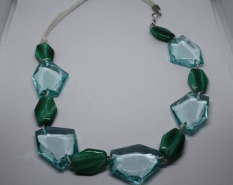 Green Water Necklace