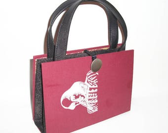 William Shakespeare Book Purse, Handmade Womens Handbag, Recycled Upcycled Bag