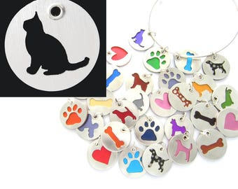Burmese Cat Pendant and Necklace in Sterling Silver, Pet Themed Gift for Her, Cat Lovers Jewelry, Colorful Jewelry, Free Shipping