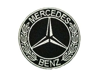 MERCEDES BENZ PATCH embroidered
