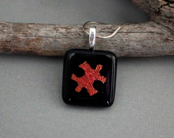 Autism Awareness Jewelry - Autism Jewelry - Autism Teacher Gift - Puzzle Piece Jewelry - Gift For Teacher