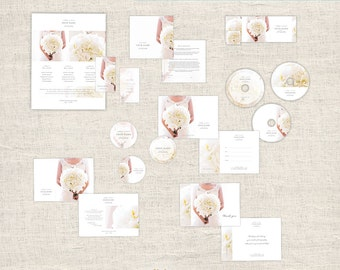 Elegant Photography Marketing Set, Wedding Photographer Branding, Photo Marketing Package, Photoshop Design Templates, INSTANT DOWNLOAD
