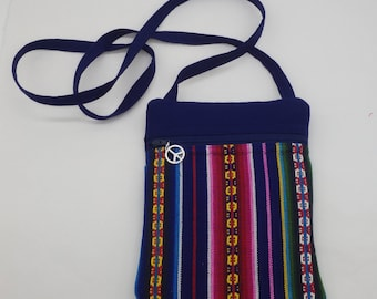 Festival Bag, Grateful Dead Bag, Shoulder Purse, Passport Case, Gifts for Deadheads, from Jerry Garcia's Shirt to a Cross Body Bag