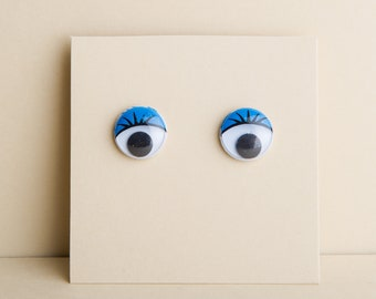 Googly eyes earrings